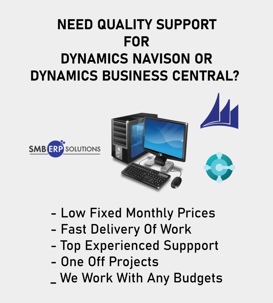 ERP Support for Dynamics